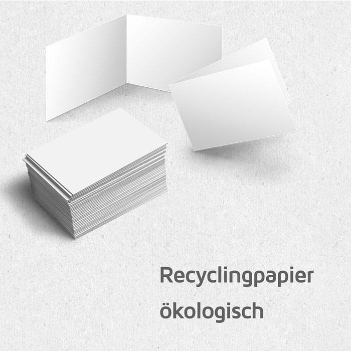 Visitenkarten 300g M Recyclingpapier Beschreibbar Bestempelbar Auch Als 4seitige Klappkarte
