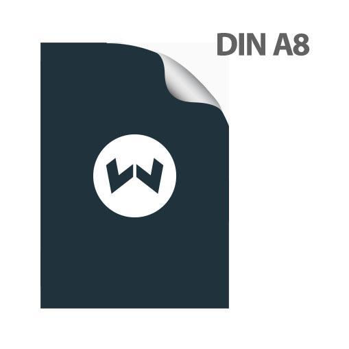 Aufkleber Sticker Din A8 Drucken Auch Beschreib Bestempelbar Maße 5 2 Cm X 7 4 Cm
