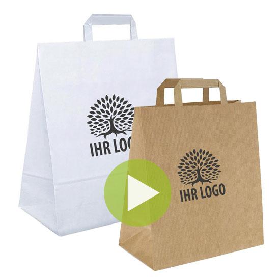 Einkaufstüten aus Papier - Onlineshop